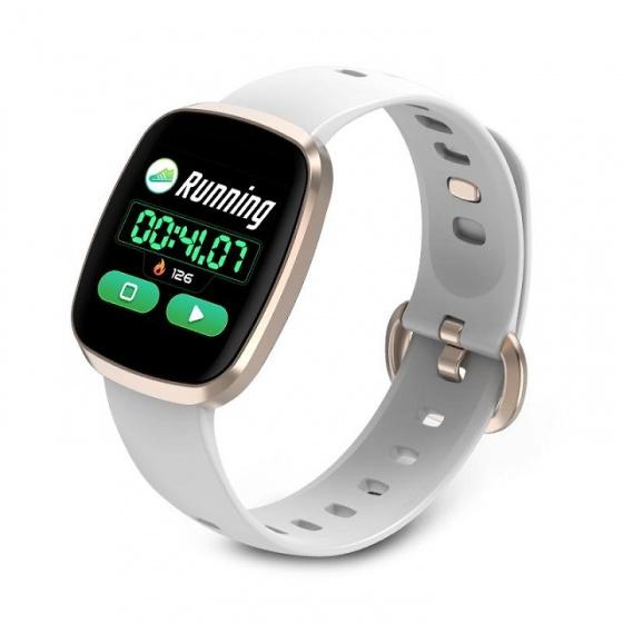 (New) đồng hồ thông minh JVJ GT-103 - Full màn hình cảm ứng (vàng hồng)