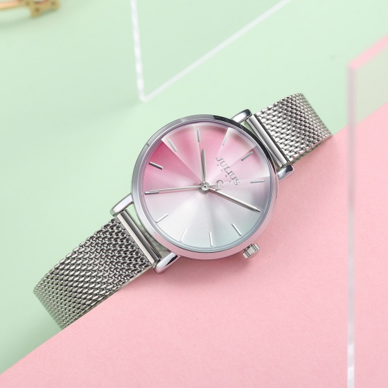 Đồng hồ nữ JA-1163 Julius Hàn Quốc mặt chuyển sắc (nhiều màu)
