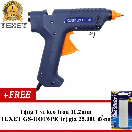 Súng bắn keo 80W Texet HH-188 tặng 1 vỉ keo 11.2mm (6 thanh keo)
