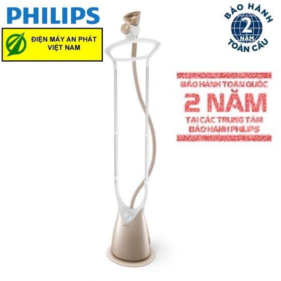 Bàn ủi đứng hơi nước cao cấp Philips GC576 - hàng chính hãng (bảo hành 2 năm trên toàn quốc)