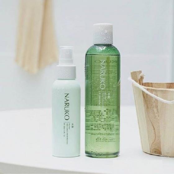 Sữa tắm tràm trà trị mụn Naruko Tea Tree Shine Control and Blesmish Clear Shower Gel