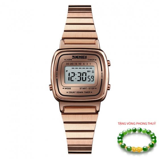 Đồng hồ nam Skmei SK135 tặng vòng tùy hưu xanh ngọc