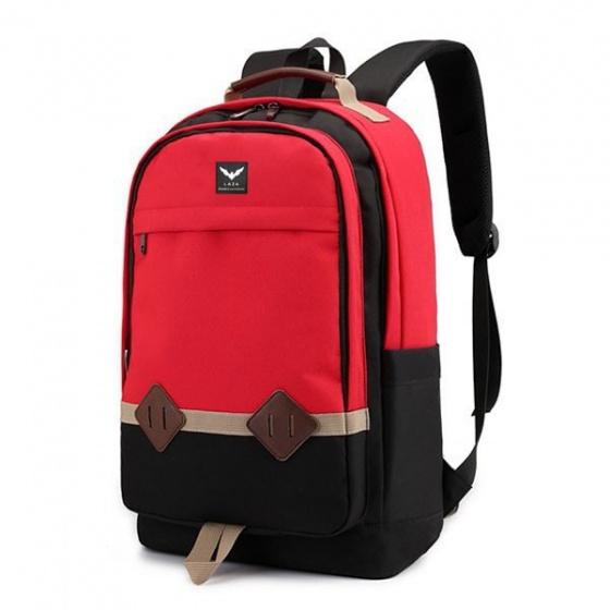 Combo balo nam Laza BL404 và túi đeo chéo TX361-Đỏ