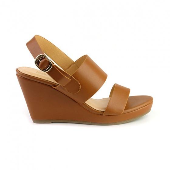 Giày đế xuồng êm chân Sunday DX10 màu nâu