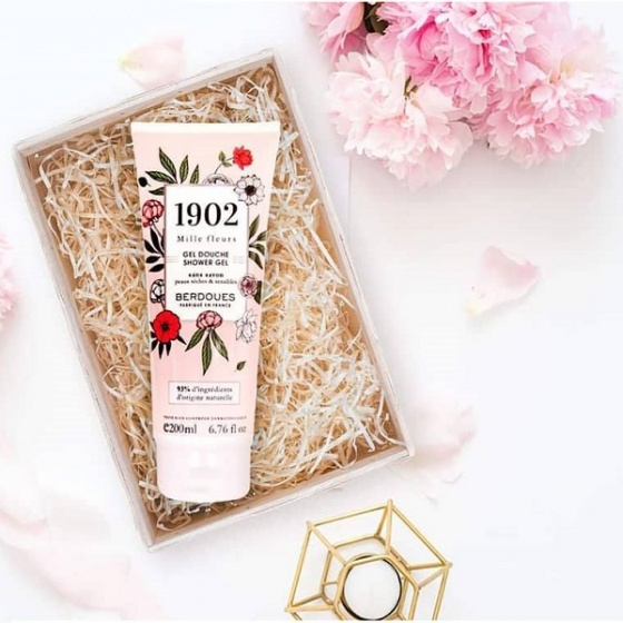 Sữa tắm hương nước hoa pháp - 1902 miller fleurs Shower Gel 200ml