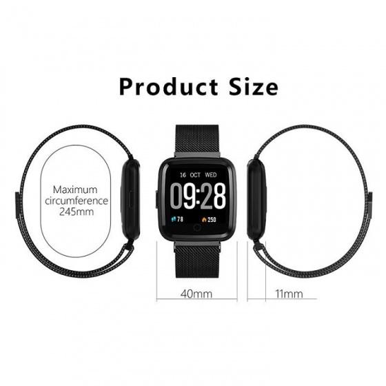 (New) đồng hồ thông minh JVJ CY7 - đen
