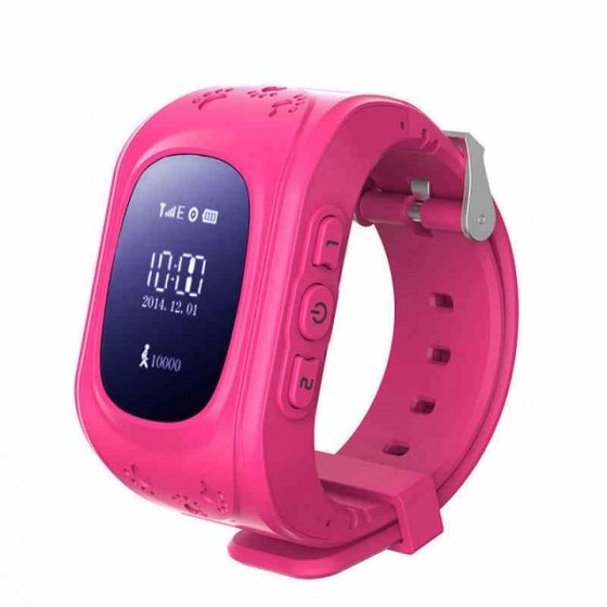 Đồng hồ định vị trẻ em JVJ Q50 (hồng)