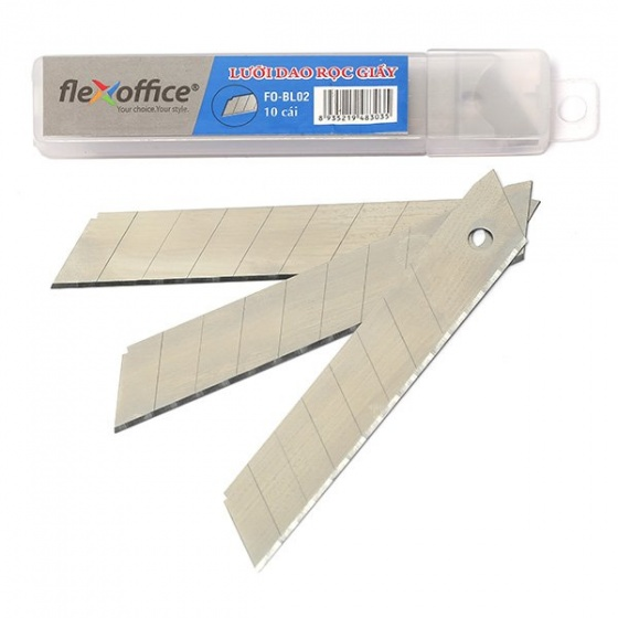Lưỡi dao rọc giấy Flexoffice FO-BL02