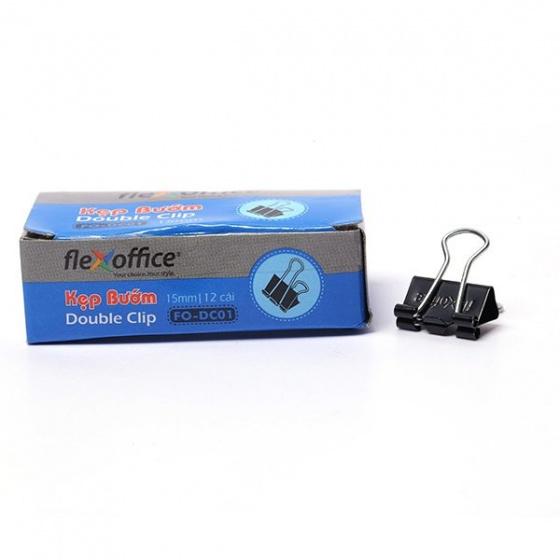 Kẹp bướm Flexoffice 15mm FO-DC01