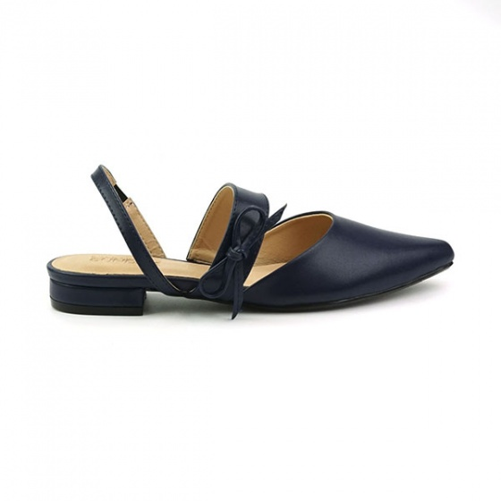 Giày búp bê êm chân Sunday BB28 màu xanh đen