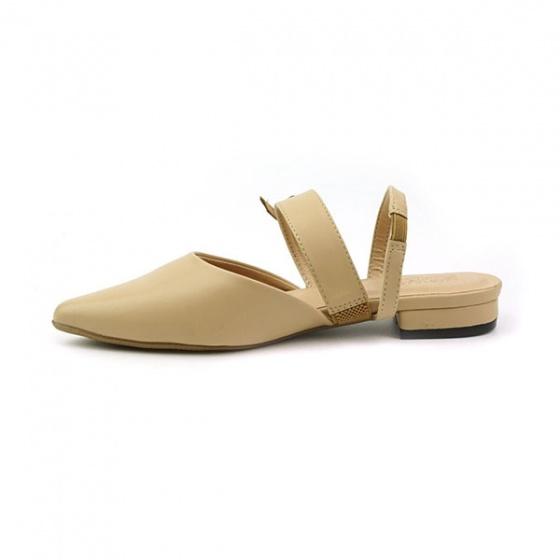 Giày búp bê êm chân Sunday BB28 màu kem