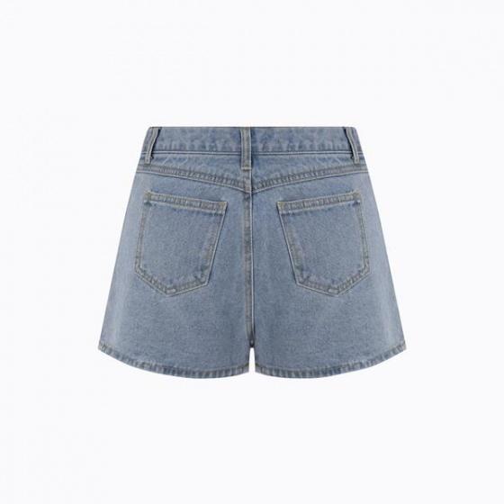 Quần short jean nữ Hàn Quốc Orange Factory EQP9L450-WSL