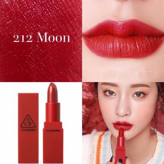 Son 3CE Red Recipe màu 212 Moon
