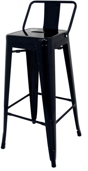 Ghế sắt đôn bar cao có lưng Furnist Tolix h75 NK