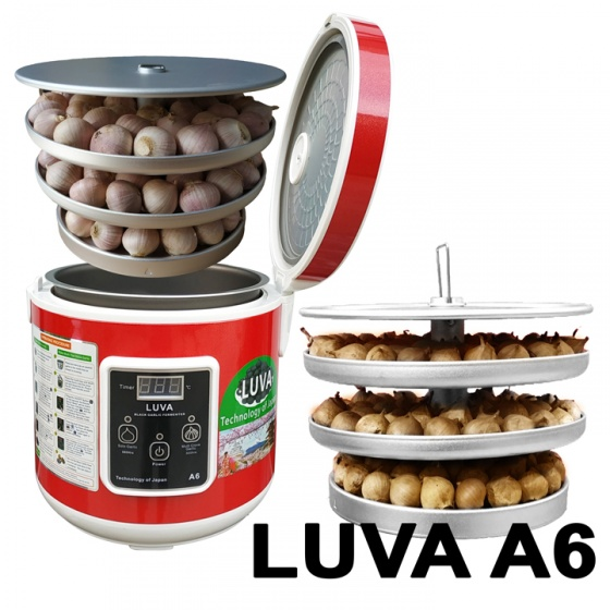 Máy làm tỏi đen công nghệ Nhật Bản – LUVA A6 – màu đỏ