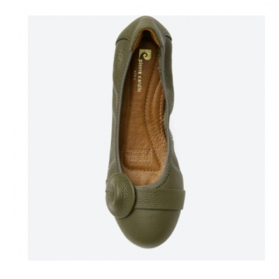 Giày búp bê Pierre Cardin PCWFWLB020GRE màu xanh