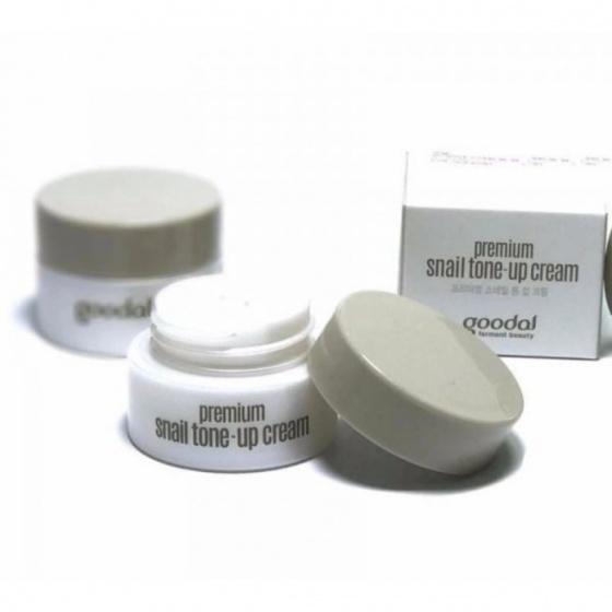 Kem dưỡng ốc sên mini  Goodal Premium Snail Tone Up Cream