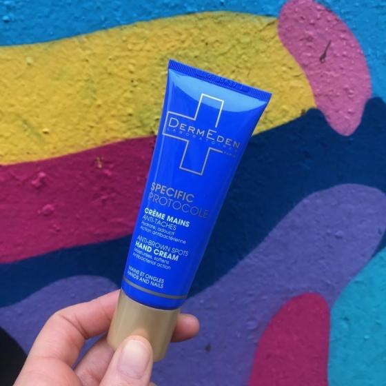 Kem dưỡng bảo vệ, làm mờ và ngăn ngừa đốm nâu dành cho da tay DermEden Hands Protection - Anti Brown Spots (50ml)