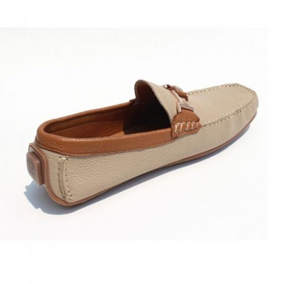 Giày lười cao cấp Pierre Cardin CMFWLB075BEG màu be