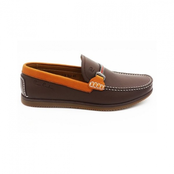 Giày lười nam cao cấp Pierre Cardin PCMFWLB064BRW màu nâu