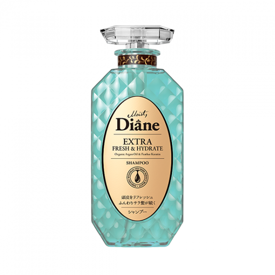 Dầu gội kiểm soát dầu Moist Diane Extra Fresh & Hydrate - 450ml