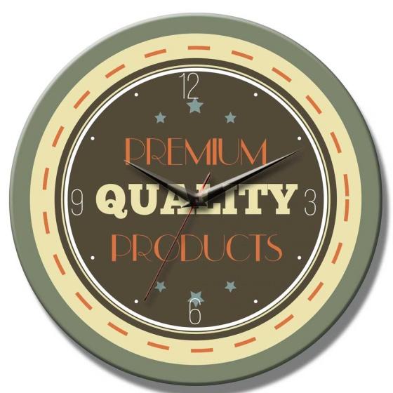 Đồng hồ gỗ tròn R0188