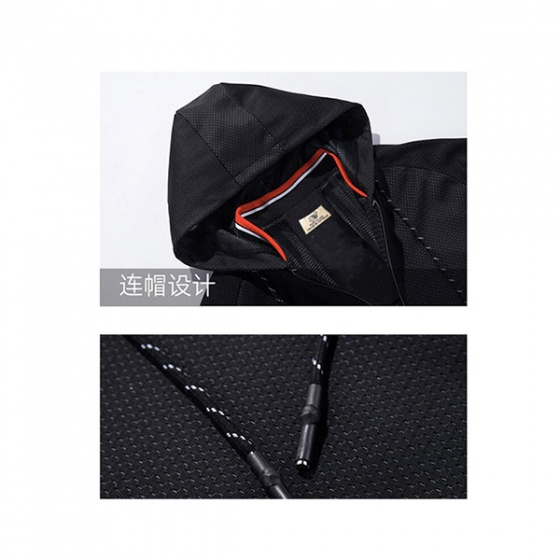 Áo khoác dù nam cao cấp phối nón lót lưới bên trong, phù hợp nhiều phong cách - LUOI3