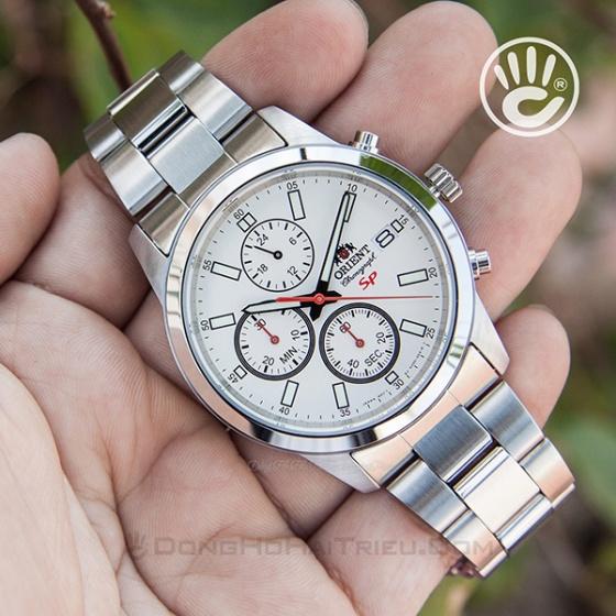 Đồng hồ nam Orient FKU00003W0 chính hãng (full box + sổ bảo hành toàn quốc 3 năm) mặt kính chống xước - chống nước - dây thép 316l