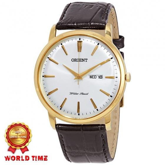 Đồng hồ nam Orient FUG1R001W6 chính hãng (full box + sổ bảo hành toàn quốc 3 năm) mặt kính chống xước - chống nước - dây da cao cấp