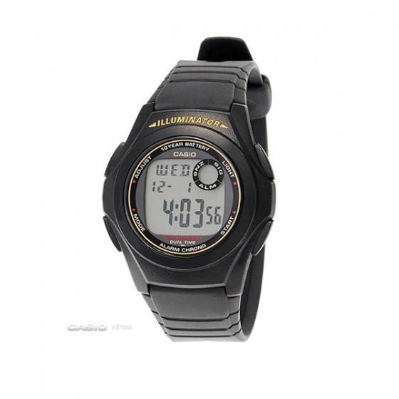 Đồng hồ Casio F-201WA-9ADF, sản xuất Casio Nhật Bản, phân phối chính hãng bởi Casio LongTime Việt Nam