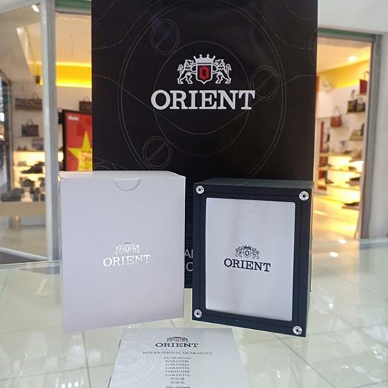 Đồng hồ nam Orient FUG1R007W6 chính hãng (full box + sổ bảo hành toàn quốc 3 năm) mặt kính chống xước - chống nước - dây da cao cấp