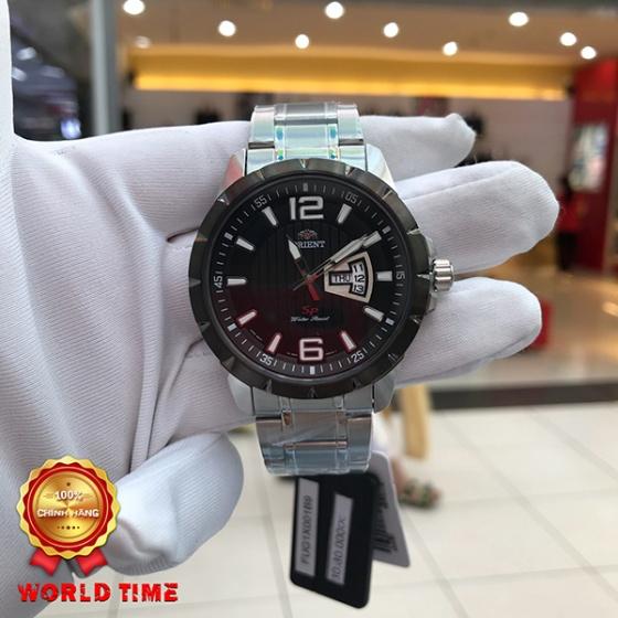 Đồng hồ nam Orient FUG1X001B9 chính hãng (full box + sổ bảo hành toàn quốc 3 năm) mặt kính chống xước - chống nước - dây da cao cấp