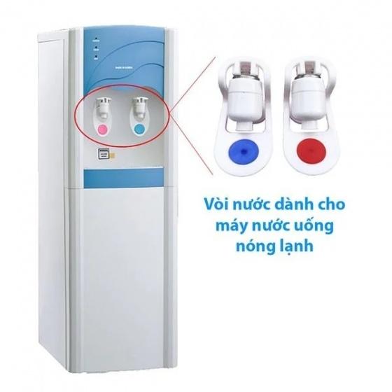 Combo 2 vòi nước cho cây nước uống nóng lạnh