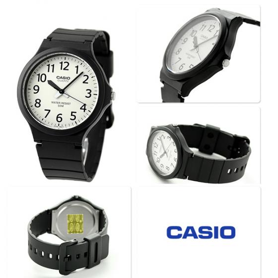 Đồng hồ nam nữ Casio MW-240-7BVDF, sản xuất tại Casio Nhật Bản, phân phối chính hãng bởi Casio LongTime Việt Nam
