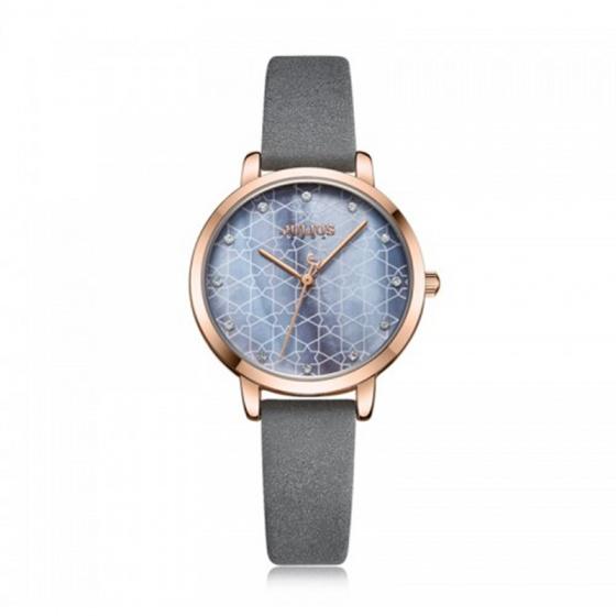 Đồng hồ nữ JA-1178 Julius Hàn Quốc dây da (nhiều màu)