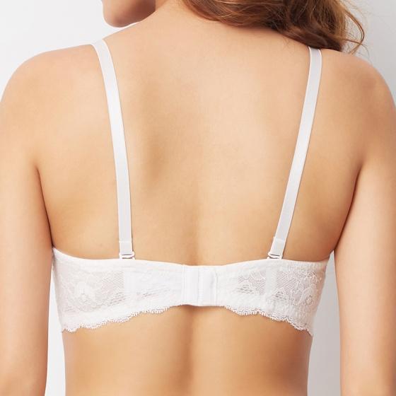 Áo ngực t-shirt phối ren iBasic BRAW025