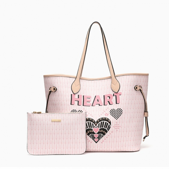 Túi xách Venuco Madrid F59 - hồng heart - P16F59