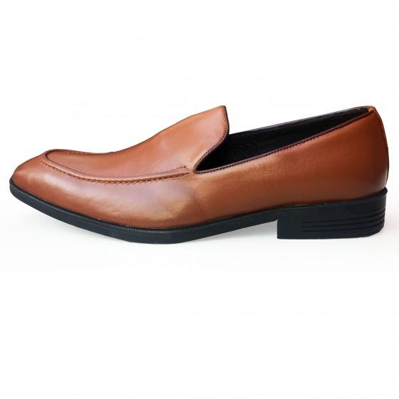 Giày nam da bò - Giày lười Geleli
