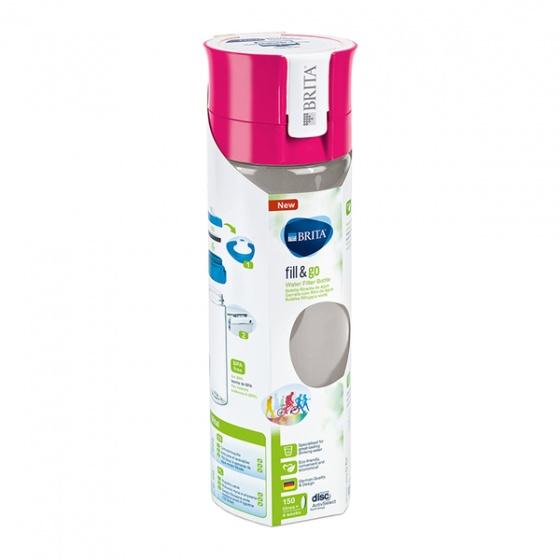 Bình lọc nước BRITA Vital Pink - 600ml (kèm Microdisc)
