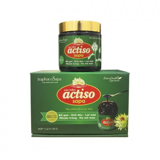Combo 2 hộp cao Actiso Sapa - giải độc gan, giảm cholesterol