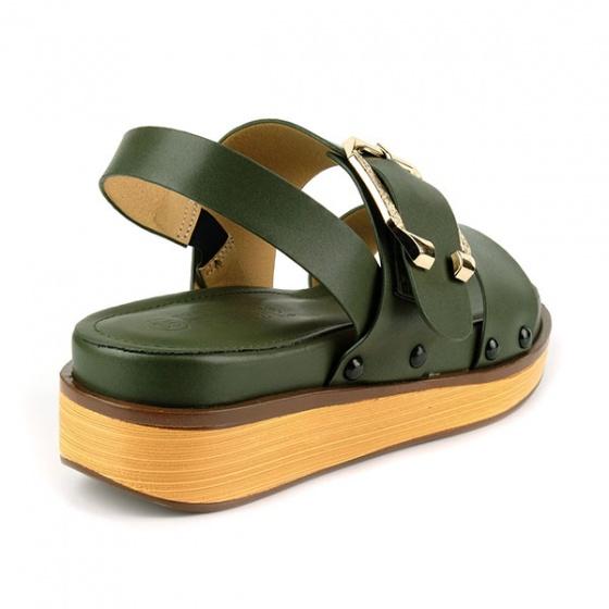 Sandal êm chân Sunday SD31 màu xanh rêu