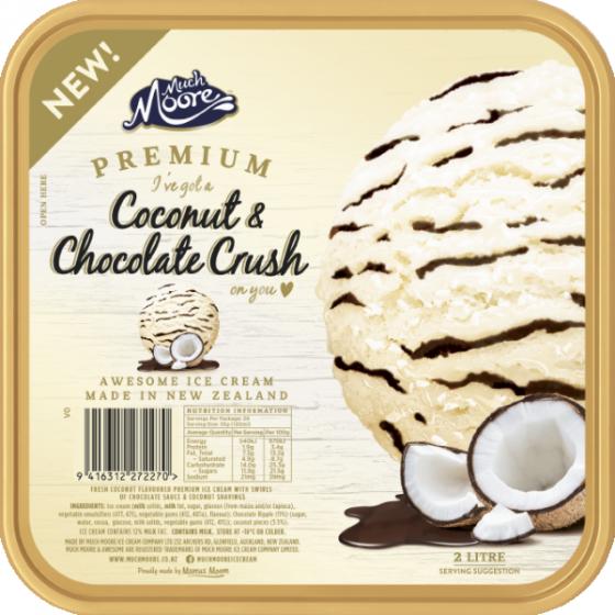 Kem vị Coconut & Chocolate Crush
