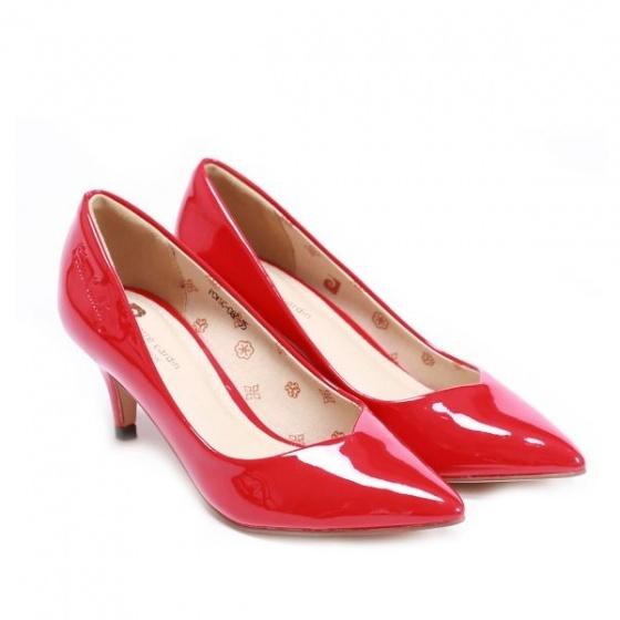 Giày cao gót Pierre Cardin - PCWFWSC087RED màu đỏ