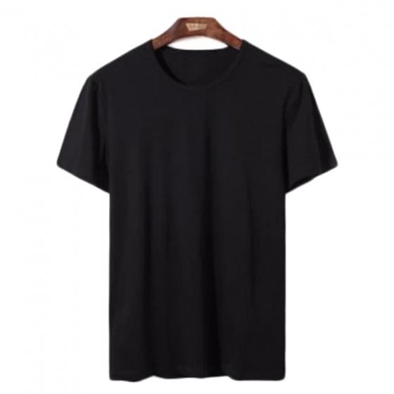 Áo phông nam cổ tròn dokafashion, combo 3 áo màu xám, đen, trắng tặng 1 quần lót nam