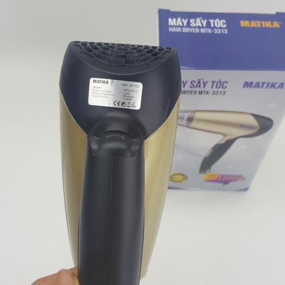 Máy sấy tóc nóng lạnh Matika MTK-3313