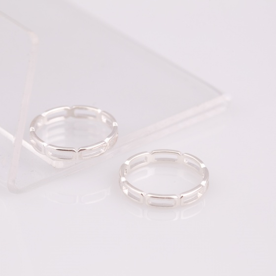 Opal - nhẫn bạc tình yêu - N01