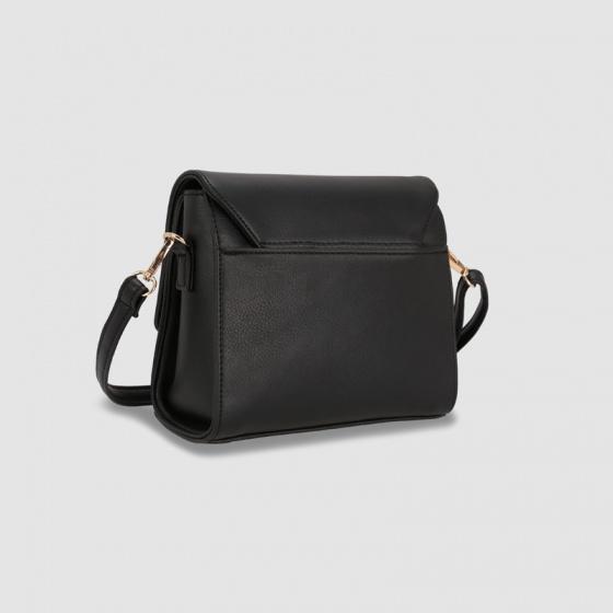 Túi hộp đeo chéo nữ phom vuông nắp gập Idigo FB2-378-00
