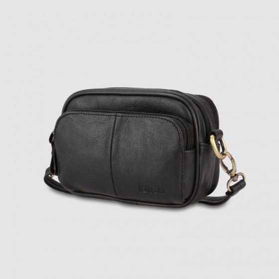 Túi đeo chéo unisex dáng chữ nhật Idigo MB2-331-00