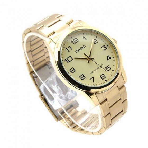 Đồng hồ nam Casio MTP-V001G-9BUDF,sản xuất tại Casio Nhật Bản, phân phối chính hãng bởi Casio LongTime Việt Nam