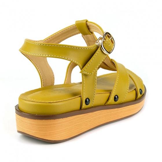 Sandal êm chân Sunday SD32 màu vàng